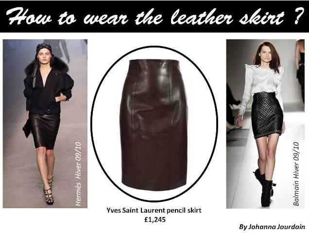 HTW leather skirt 1