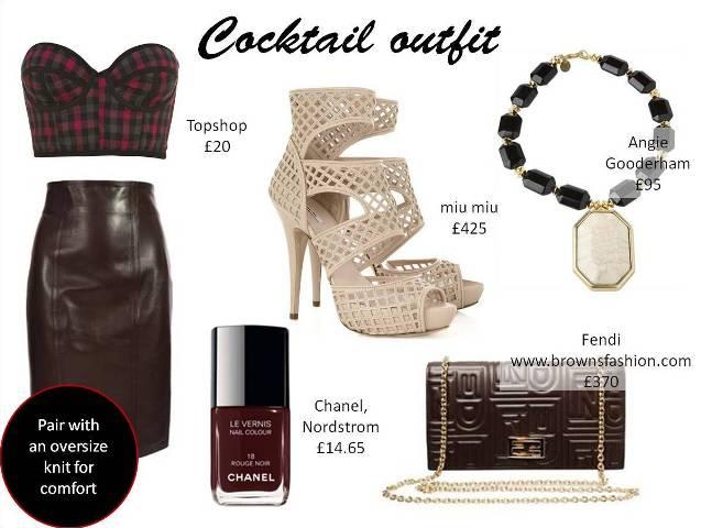 HTW leather skirt 4