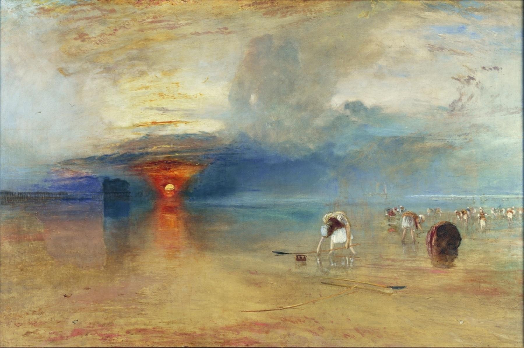 Derniers jours turner et ses peintres au grand palais for Artiste peintre anglais