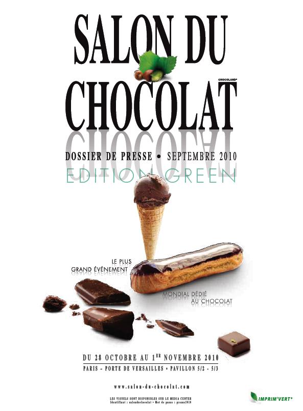 Salon du chocolat 2010 bon bio le salon du chocolat se for Salon du bio