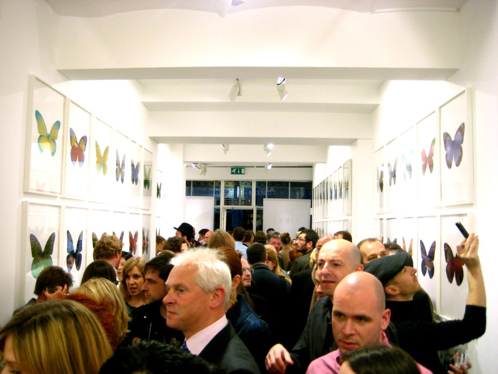 Paul Stolper Gallery - Damien Hirst Private Preview