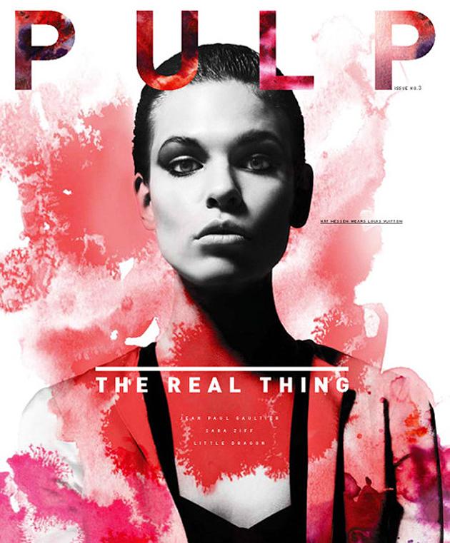 Pulp Magazine Cover