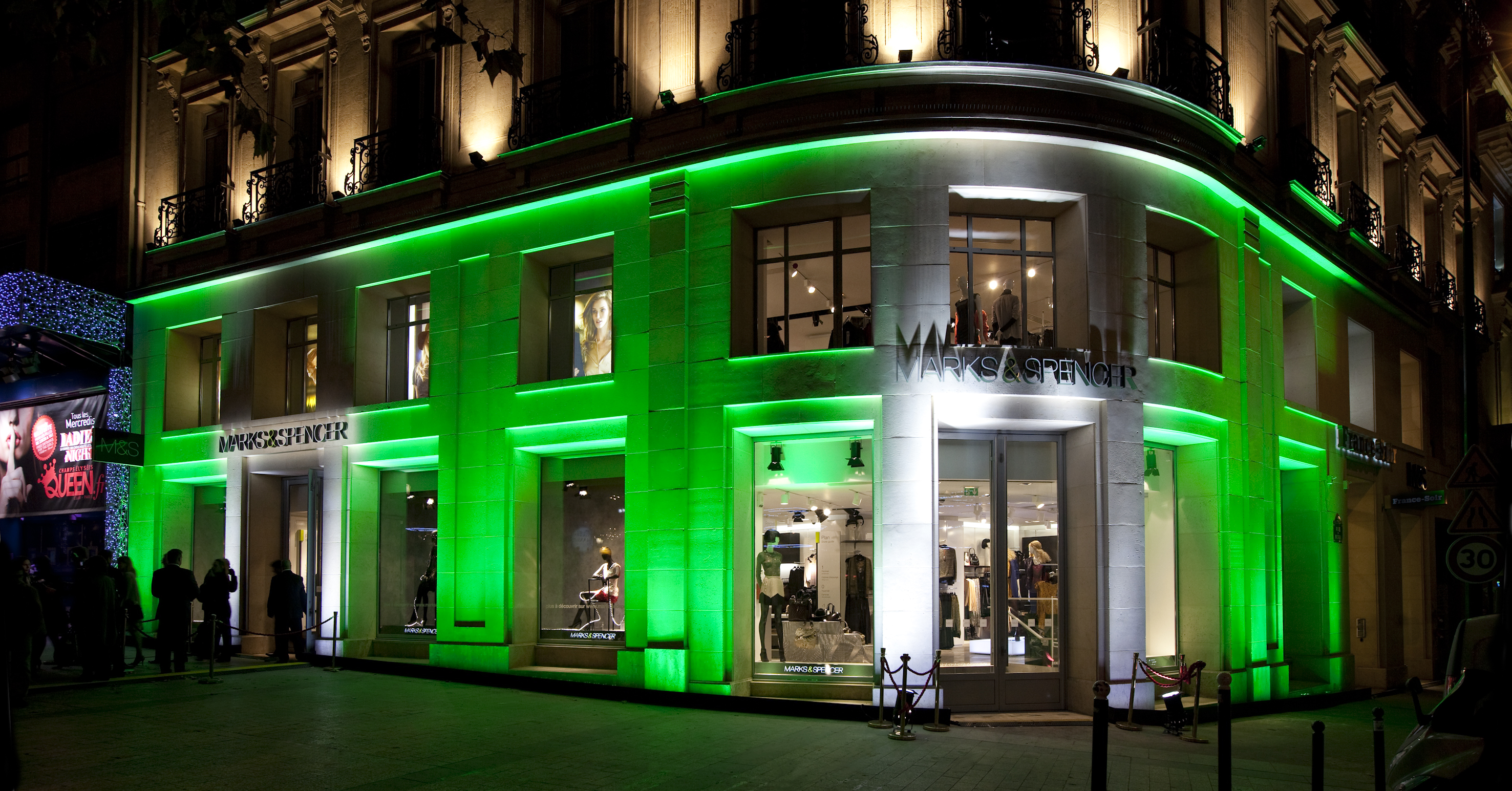 Grand magasin the retail news for Adresse mark and spencer paris