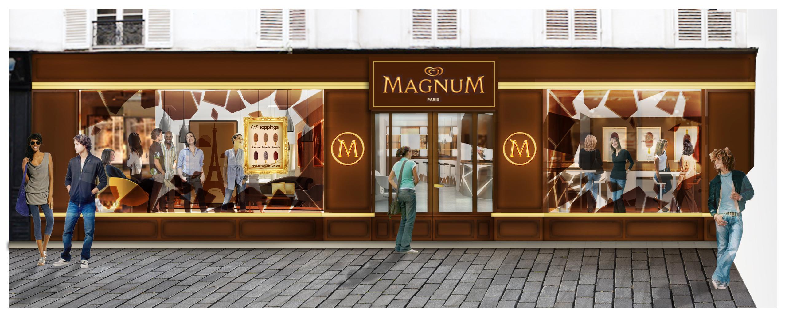 magnum annonce l�ouverture d�un caf233 233ph233m232re au cœur du