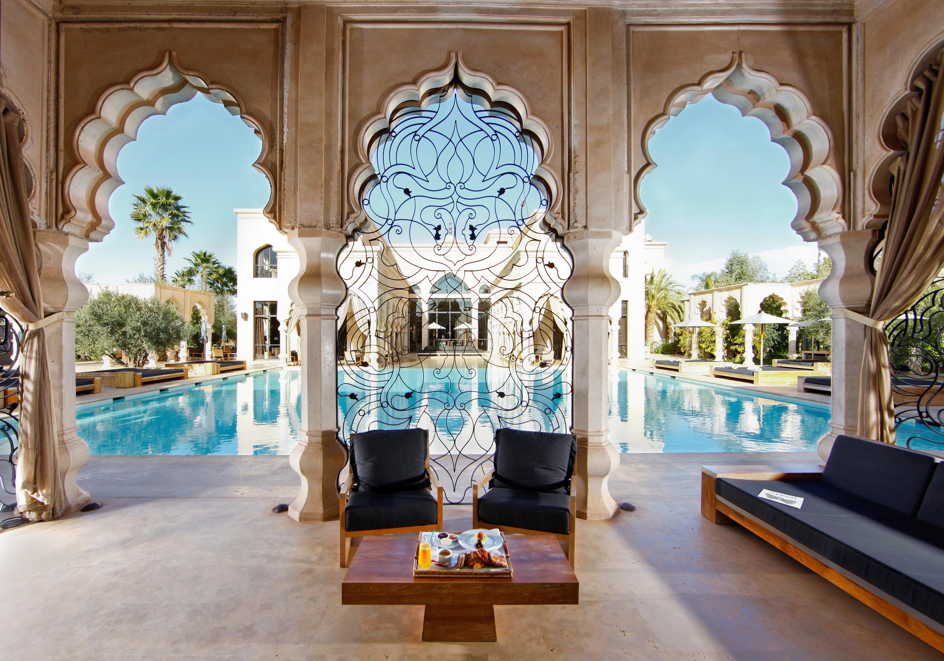 Le palais namaskar : luxe, calme et volupté à marrakech   luxsure