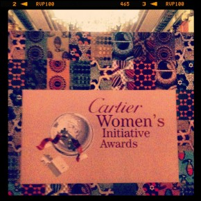Cartier Initiative Women's Awards à Deauville