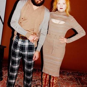 Woolmark avec Vivienne Westwood, le temps d'une collaboration.