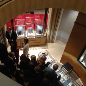 Inauguration de la boutique Jaeger-LeCoultre