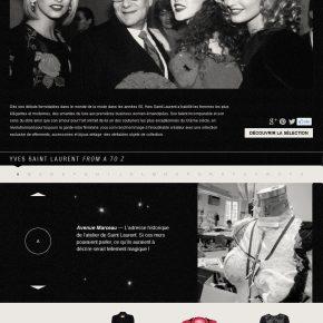 Yves Saint Laurent – Une sélection vintage en vente yoox.com