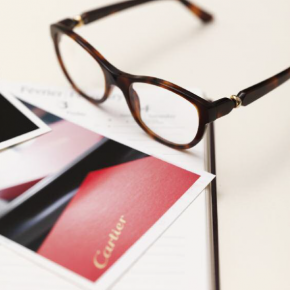 Cartier lance sa collection de lunettes Trinity