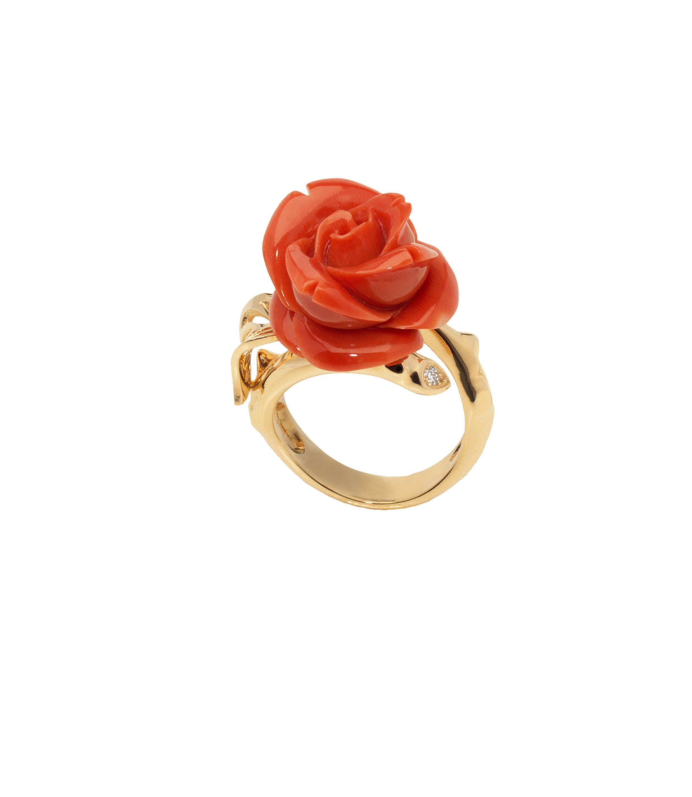 bague rose dior pr catelan corail rouge pm luxsure. Black Bedroom Furniture Sets. Home Design Ideas