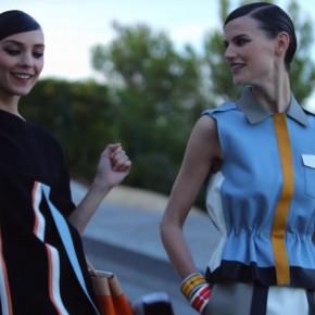 PEPLUM PEOPLE – une vidéo exclusive pour FENDI par KARL LAGERFELD