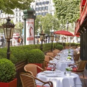 Redécouvrez les quatre terrasses de l'Hôtel Fouquet's Barrière