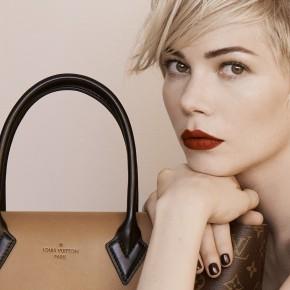 Michelle Williams, une beauté expressive pour Louis Vuitton