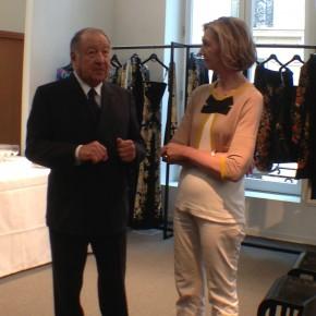 Visite privée de la Maison Léonard en compagnie de Nicole Bricq, ministre du Commerce extérieur