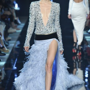 ALEXANDRE VAUTHIER Couture Hiver 2014 avec Swarovski