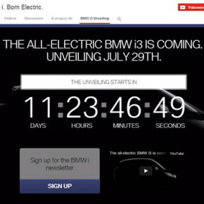 BMW i 3, teasing