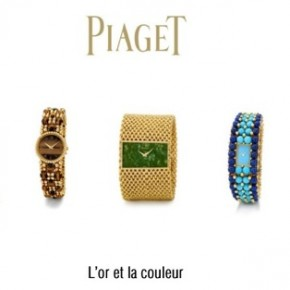 Piaget, de l'or à la couleur