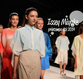 Issey Miyake RTW SS2014