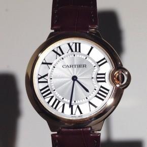 Cartier Horlogerie, Joaillerie et Maroquinerie, collections printemps été 2014.