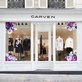 Carven ouvre sa nouvelle boutique Rive Droite !