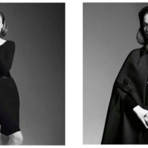 First, be a woman – Raquel Zimmermann pour la Campagne Hiver 2014 de PAULE KA