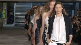 Anthony Vaccarello – Collection Printemps/été 2015 à Paris (avec interview)