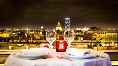 Maison Blanche – Saint Valentin : Escapade romantique et gourmande sur les toits de Paris