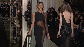 Atelier Versace, Défilé Haute Couture, Printemps / Eté 2015, Paris, avec interviews