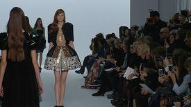 Dice Kayek, Défilé Haute Couture, Printemps / Eté 2015, Paris, avec interview