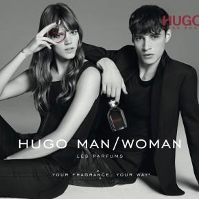 Freja Beha Erichsen et Adrien Sahores: les nouveaux visages HUGO Woman & HUGO Man