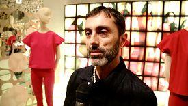 Giambattista Valli for 7 For All Mankind, Présentation à Milan avec interview