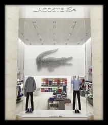 Une boutique Lacoste ouvre au Carrousel du Louvre