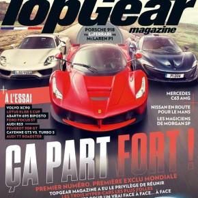 Top Gear débarque dans les kiosques français