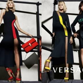 Versace présente sa nouvelle campagne Automne/Hiver 2015