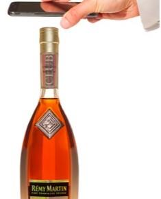 Remy Martin club connect bottle, un cognac sous-scellé