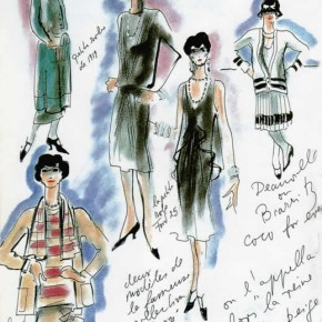 Coco Chanel à l'écran : cigarettes et perles.