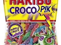 Haribo CROCO P!K® VIOLET vs DRAGIBUS® VIOLET