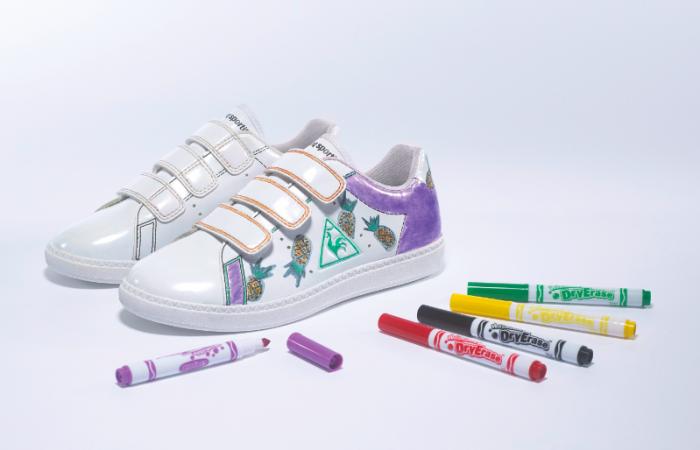 Le défis créatif du Coq SportifXCrayola : à vos crayons.
