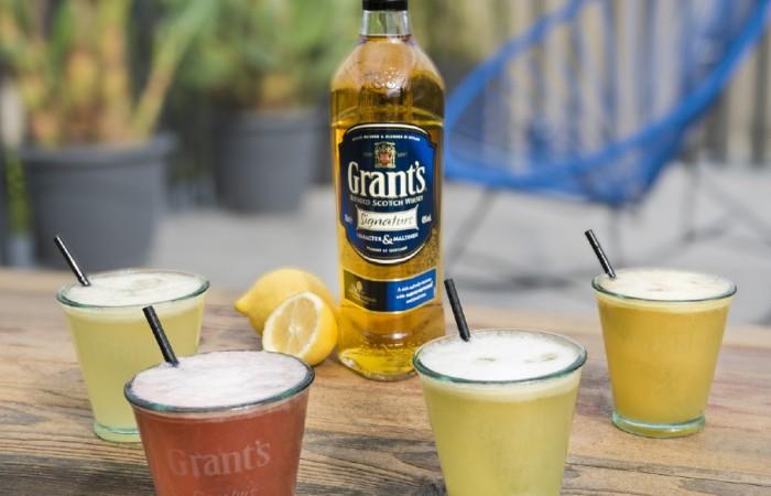 Grant's Signature présente sa sélection de cocktails estivaux.
