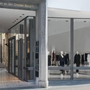 ISSEY MIYAKE : une nouvelle boutique au design aéré au coeur d'Anvers.