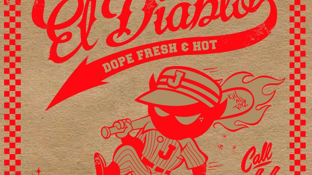 Cartoon & Junk Food – La El Diablo Boxby Jaek El Diablo