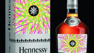Hennessy Very Special édition limitée par Ryan McGinness