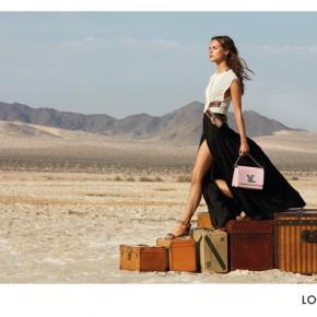 Louis Vuitton présente sa nouvelle campagne «l'âme du voyage» avec Michelle Williams  et Alicia Vikander