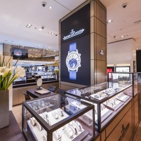 Jaeger-LeCoultre: Ouverture de la boutique des Galeries Lafayette