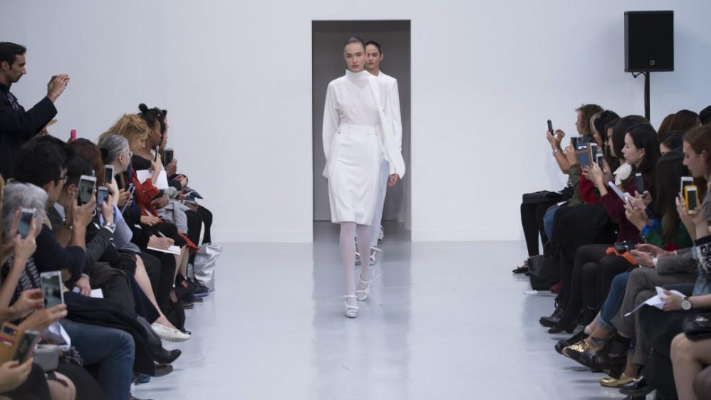 Fashion Week et nouveaux talents : défilé Vassilly.