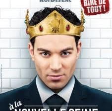 A Découvrir d'urgence le One Man Show corrosif de Lamine Lezghad le Roi de l'élégance Trash dans «Lamine Lezghad le roi des enc***» au théatre la Nouvelle Seine Paris !