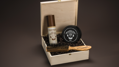 Coffret Beardilizer : le Must have des barbus