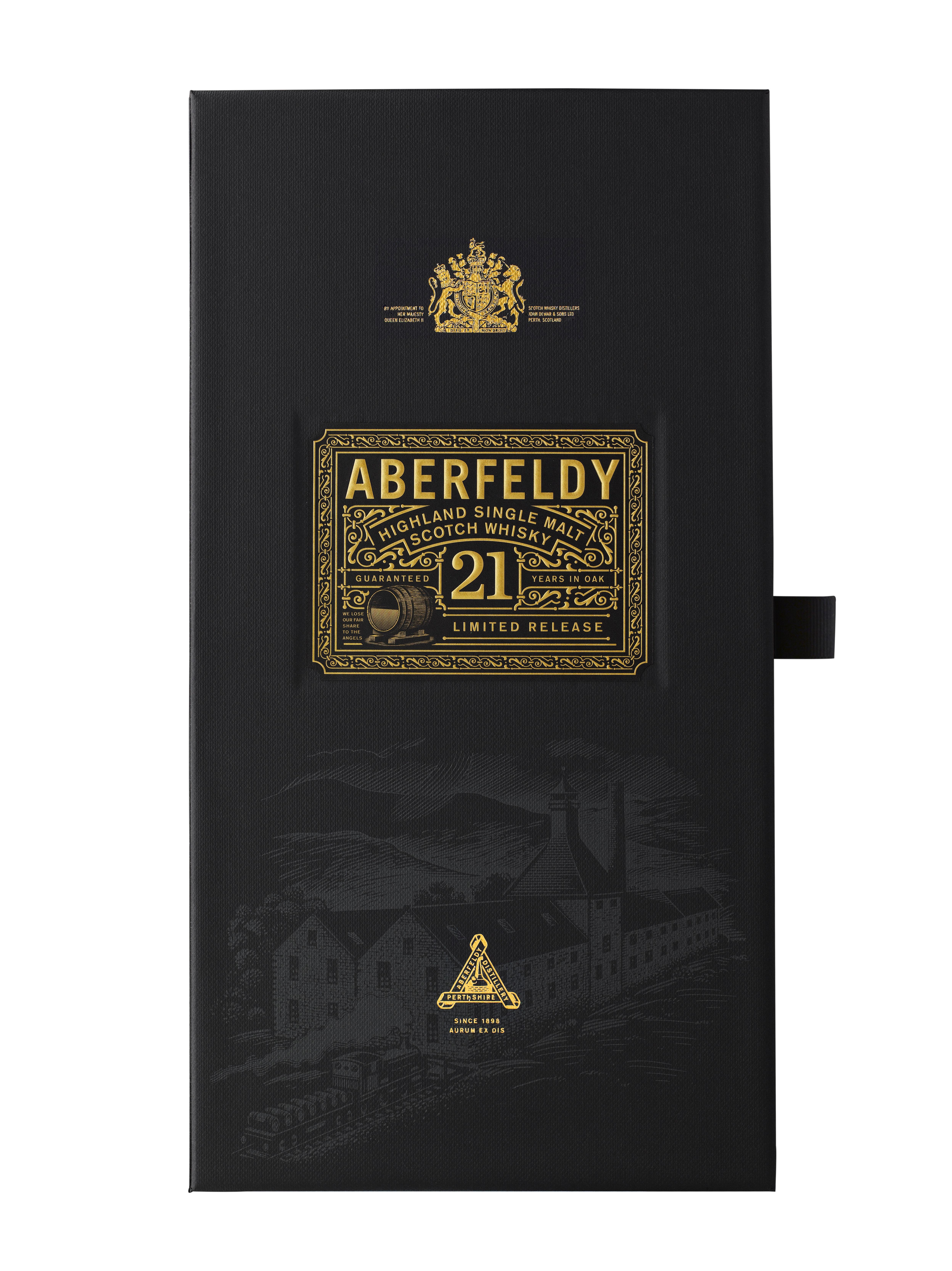 Aberfeldy 21 ans boite seule