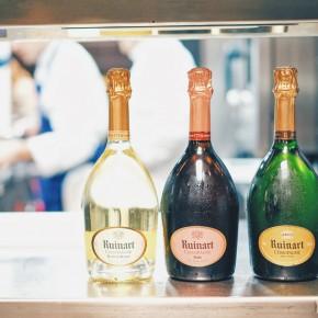 Ruinart, la première maison de Champagne nous invite au 68 de Guy Martin